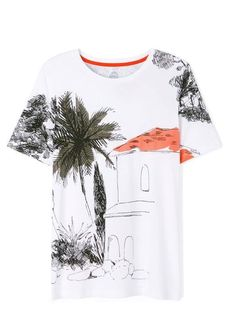The statement t-shirt, transformed by pattern | Tory Burch