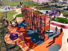 Parques infantiles de Grupo Lappset en Alcobendas, Madrid