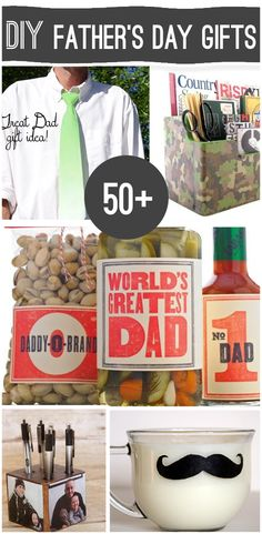 60 Fathers Day Gift Ideas to make Handmade Father's Day Gifts, Diy Father's Day Gifts, Father's Day Diy, Diy Crafts For Gifts, Fathers Day Crafts, Gifts For Dad, Holiday Crafts, Holiday Fun, Crafts For Kids