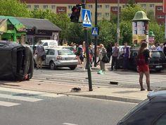 Karambol na Ruczaju. Sprawca nie ma pojęcia, co się stało [ZDJĘCIA] - Zdjęcie 9392 - Aktualności - LoveKraków.pl Street View, Heart Rate