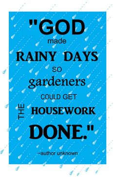 essay rainy day english