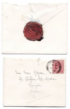 ....nothing like good old fashioned correspondence... Still relevant.