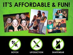 No botox, liposuction, or shape wear!