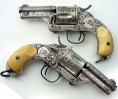 Merwin Hulbert model pocket army revolvers with skullcrusher butt 44 cal. Guns of the Old West Weapons Guns, Guns And Ammo, Rifles, Cool Guns, Shotgun, Firearms, Hand Guns, At Least, American Frontier