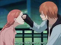 Lovely Complex - Cute romance scenes