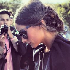 "Love Olivia Palermo's ""Children of California"" Westward Leaning glasses"