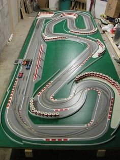 The spa-francorchamps inspired digital wood track story - slotforum slot car race track, Slot Car Race Track, Ho Slot Cars, Slot Car Racing, Slot Car Tracks, Race Cars, Race Tracks, Kart Racing, Go Karts, Hot Rods
