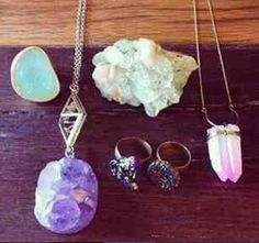 Obsessed with crystal jewelery..