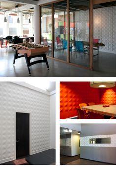 Besprechungstische, Industrie Büro, Wandverkleidung, Tagungsräume, Design Büros,  Wand Behandlungen, Arbeitsbereiche, Wandfliesen, Architektur