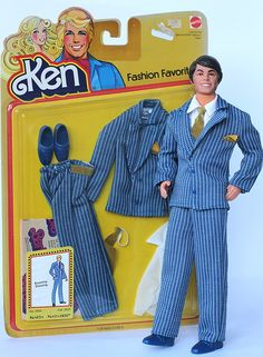 Todd in Fashion Favorites Bluechip Dressing #2800, 1979 by fashiondollcollector, via Flickr