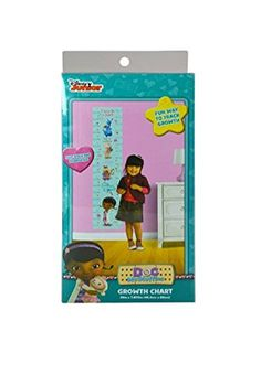 Doc McSTuffins SelfStick  Removable GROWTH CHART 36 in x 7875 in >>> You can get additional details at the image link. Note:It is Affiliate Link to Amazon.