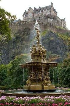 Castelo em Edimburgo, Capital da ESCÓCIA (SCOTLAND)
