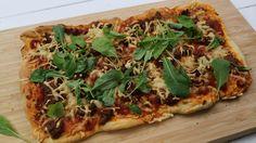 Nyhtökaura-rukolapizza - Vegepäivä - Nyhtökaura reseptit