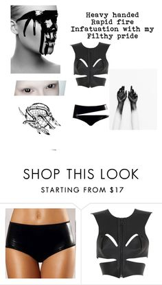 """""""Filthy Pride- Social Repose"""" by evangeline-purdy-girl ❤ liked on Polyvore featuring Fleet Ilya"""