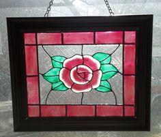 Magenta Rose Rose in 8X10 frame, Pam