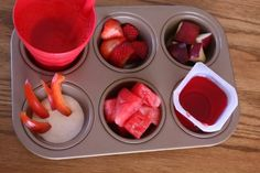 Muffin Tim Mom has some adorable ideas for making meal and snack time fun!