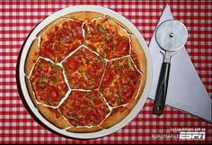 pizza soccer marketing ad