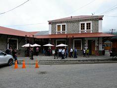 Alausi Ecuador Train Station. Visit the Nariz del Diablo.