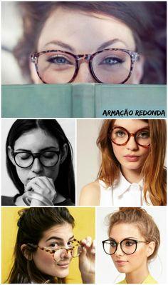 Óculos Redondos - modernos e antenados