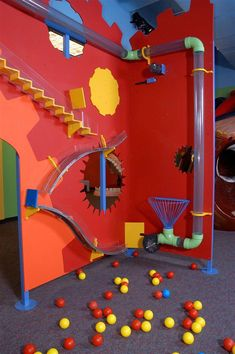 Indoor Playground Inspiration customized for Any Kids Maker Fun Factory Vbs, Indoor Play Areas, Kids Zone, Kids Church, Kid Spaces, Play Houses, Kids And Parenting, Kids Playing, Playroom