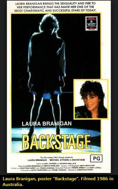 "Laura Branigan in her movie ""Backstage"". Filmed in Australia 1986."