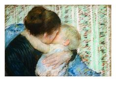 A Goodnight Hug by Mary Cassatt. Giclee print from Art.com.