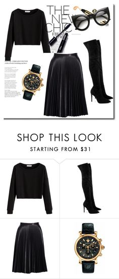 """""""Юбка плиссе"""" by izolda06 on Polyvore featuring мода, Kendall + Kylie, Cusp by Neiman Marcus и Versace"""