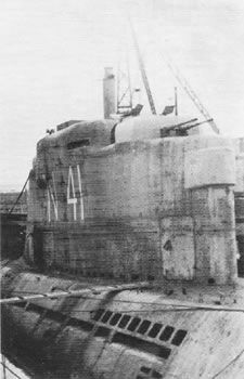 On 9 May 1945, U-3017 surrendered at Horten, Norway, before participating in any war patrols. She was later transferred to Oslo on 18 May 1945, then moved to Lisahally, Northern Ireland, on 3 June 1945, arriving 7 June 1945. U-3017 would be spared, for a time, becoming a British N-class submarine, N41, used for testing and then in November 1949, broken up at Newport, Wales