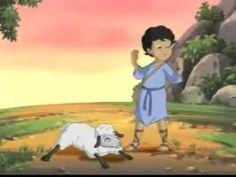 LA BIBLIA PARA NIÑOS - EL PASTORCITO - Película Niños historia de la Biblia