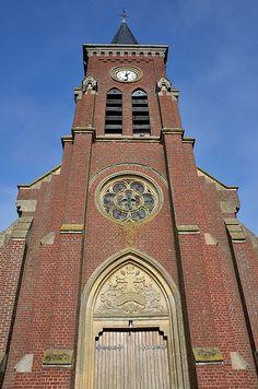 Eglise Saint-Médard .Y (Somme) - Picardie