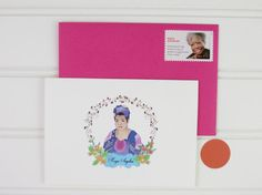 Christmas Maya Angelou Notecards Stocking Stuffer by PlayaPaper