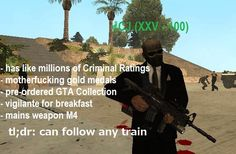 when CJ play Payday *based on: https://www.youtube.com/watch?v=YJQpQ3iTY8c