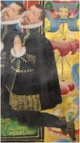 Carta ejecutoria de hidalguía, 1591 (detalle)