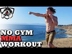 No Gym Boxing/MMA Workout -- Training at Home! - YouTube