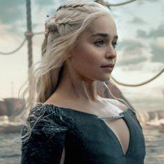 # Game of Thrones # Daenerys Targaryen # Mother of Dragons # Emilia Clarke