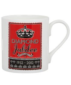 Diamond jubilee mug from Liberty of London