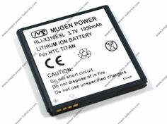 [HLI-X310ESL] Buy Mugen Power 1950mAh Extended Battery for HTC TITAN $44.95 #android #htc #batteries #phones