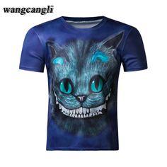 6b7e8f56a7fd 2017 fitness tee shirt deadpool funny t shirts Cat 3D compression shirt  Character joker tee shirt kitten anime tshirt homm-in T-Shirts from Men s  Clothing ...