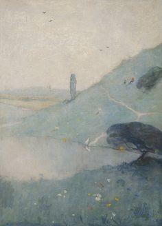 Marinus B.W. Dittlinger(Dutch, 1864-1942) Landschap In Limburg / Landscape In Limburg 1922 oil on canvas