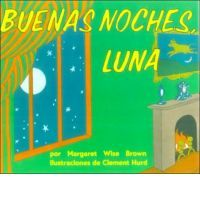 "Brown, Margaret Wise. (1947).  Buenos Noches Luna.  New York, NY.  Harper & Row Publishers, Inc./Harper Collins Publishers.  In reference to Wise (1947), this is the ""Spanish"" version of the book and though the same basic story is there; However, in reference to Wise (1947), there are a few words that rhyme in ""English"" that do not rhyme in ""Spanish"", such as ""el cuadro"" (p. 2) and ""la luna"" (p. 2), and some that do, such as ""jugatones"" (p. 6) and ""mitones"" (p. 6)."
