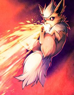 Flareon by alternativepokemonart