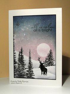 Kat's Corner: First Christmas Card