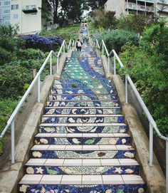 16th Ave Tiled Steps, San Francisco