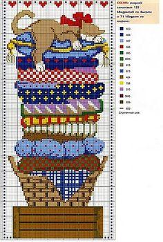 point de croix - cross stitch ❤️✼❤️✼ (2) Gallery.ru / Foto # 70 - Schema divertente 2 - elena-555