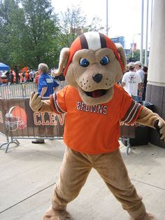 Chomps - Cleveland Browns' mascot