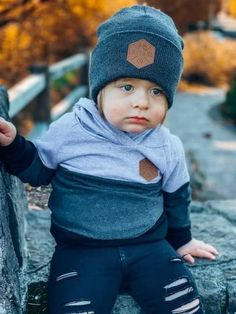 Boys Beanie, Kids Beanies, Grey Beanie, Boy Headbands, Hipster Beanie, Hipster Baby Clothes, Baby Boy Gifts, Trendy Colors, Mommy And Me
