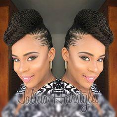 braided hairstyles for short black hair hairstyles in a bun hairstyles different hairstyles down hairstyles diy hairstyles with bangs for black hair hairstyles cornrows braid hairstyles for black hair Cornrows, Braided Cornrow Hairstyles, Braided Hairstyles For Black Women, African Braids Hairstyles, Elegant Hairstyles, Girl Hairstyles, Pretty Hairstyles, Hairstyles Videos, Hairstyles 2018