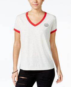 Mighty Fine Juniors' Pretzel Graphic T-Shirt