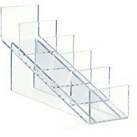 5 Xl Blanco Acrílico Plástico Acrílico Libro Placa tienda minorista Display Stand soporte