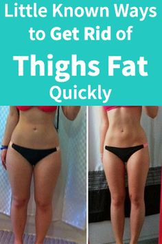 Little Known Ways to Get Rid of Thighs Fat Quickly